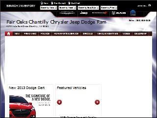 Fair Oaks Chantilly Chrysler Jeep Dodge Ram >> Fair Oaks Chantilly Chrysler Jeep Dodge Ram 2020 New Car